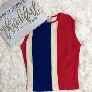 VTG Marshall Field &Company Sleeveless Blouse 12